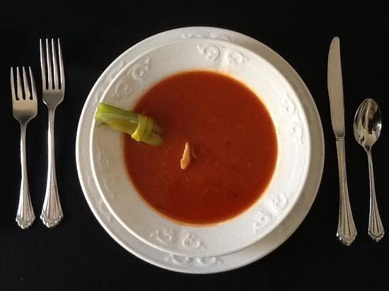 Medora Muskoka Cuisine: Classic Caesar Cocktail Soup