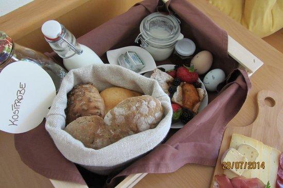 Residence Obermuhle Zu Schanzen: Frühstückskistl
