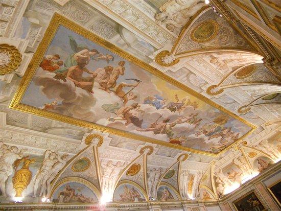 Galerie Borghèse : Des plafonds à vous donner le torticolis !