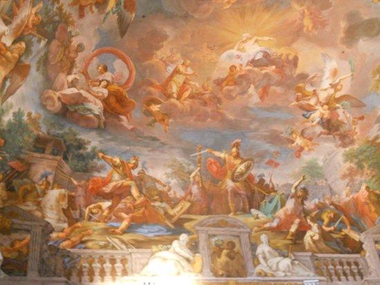 Galerie Borghèse : Tout une histoire ces plafonds !