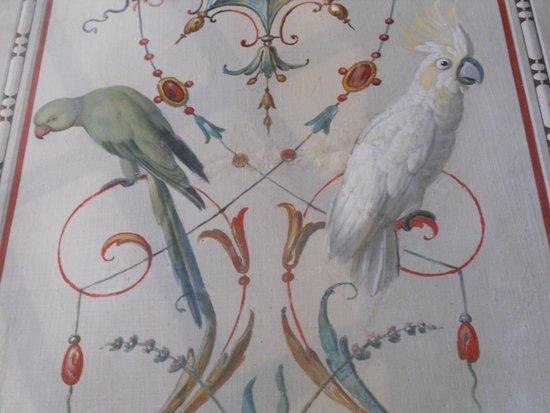 Galerie Borghèse : Oiseaux exotiques