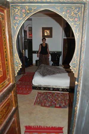 Riad La Porte Rouge: our room