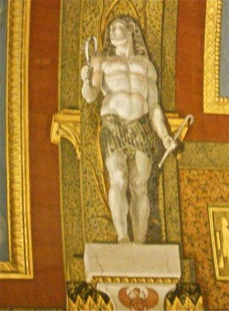 Galería Borghese: L'Egypte est évidemment présente