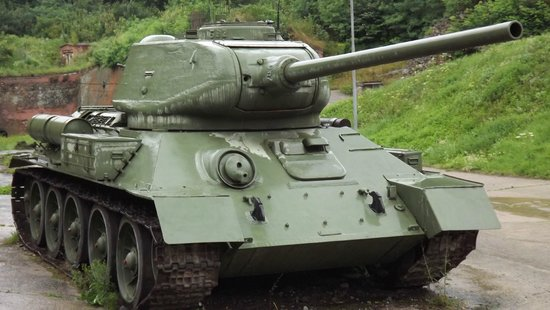 Fortress Klodzko (Twierdza Klodzko): Tank at Klodzko