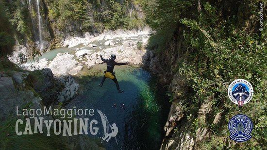 Lago Maggiore Canyoning