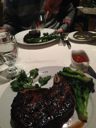 Gallagher's Steak House : bavette à l'Américaine