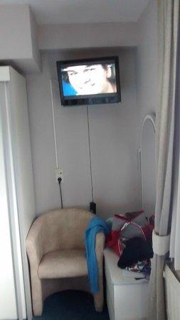 Hotel Grenier des Grottes : TV