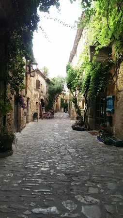 Hotel El Cau de Papibou: The hotel's street