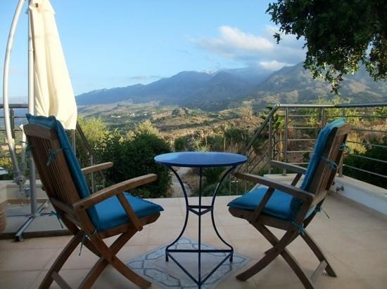Panokosmos Holidays : From the dining room terrace