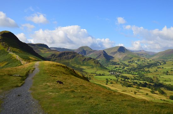 Catbells Lakeland Walk: View from the top