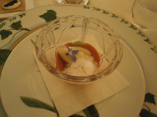 Bouley Restaurant: Complimentary Appetizer