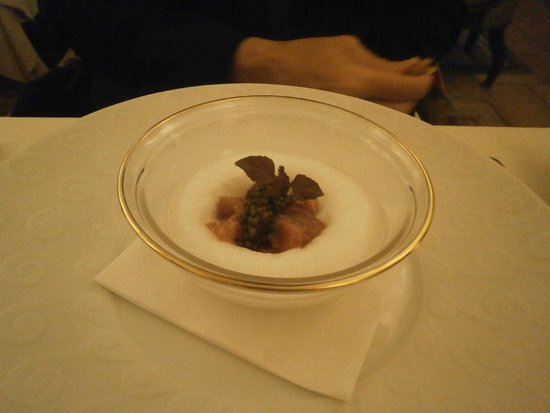 Bouley Restaurant: Big Eye Tuna