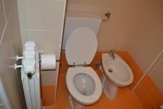 Hotel Tirrenia: bagno