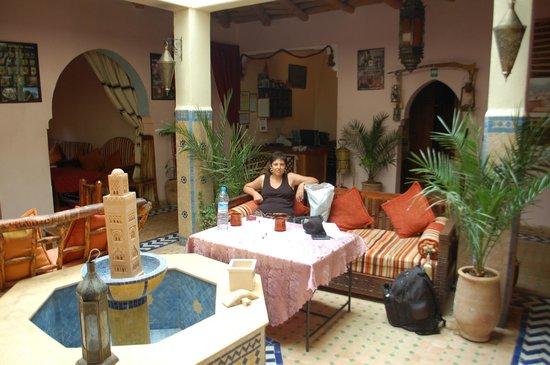 Dar Imlil : main courtyard