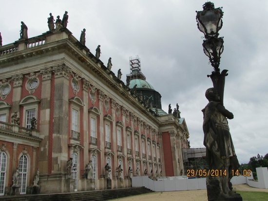 Neues Palais: The grand view of the palace