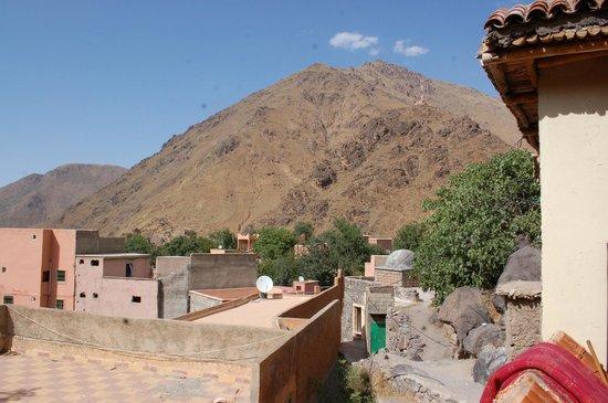 Dar Imlil : view from terrace