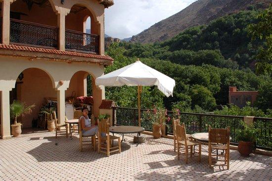 Dar Imlil : terrace