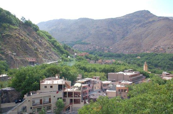 Riad Dar Imlil : view from terrace