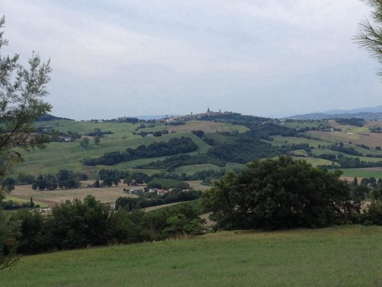 Leondina Country House: Vista dalla terrazza