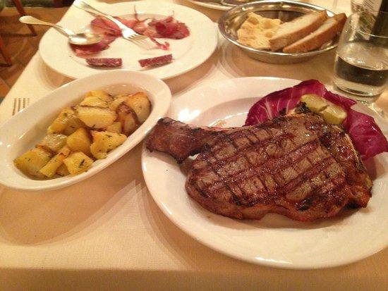 Il Caminetto Ristorante: Great bistecca