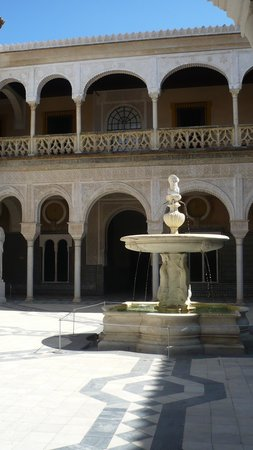 Casa de Pilatos : courtyard