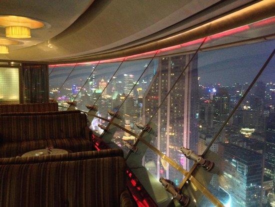 Radisson Blu Hotel Shanghai New World: Skydome restaurant
