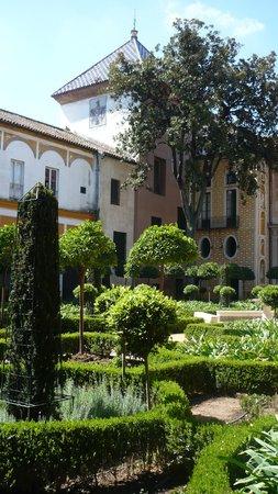 Casa de Pilatos: garden