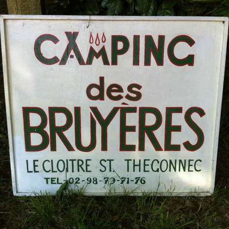 Camping des Bruyeres: A lovely rural campsite.