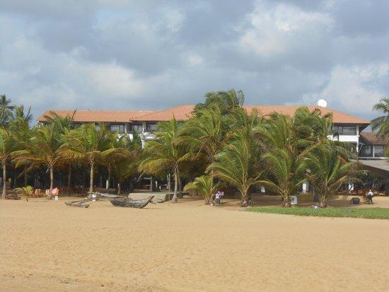 Jetwing Beach: Hotelanlage komplett