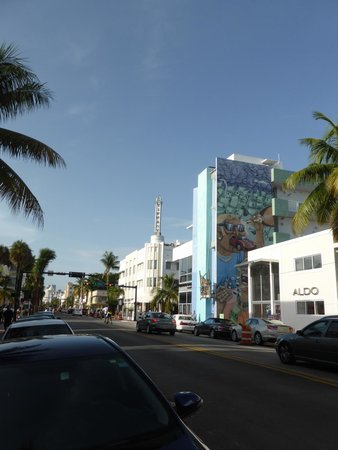 The Hotel of South Beach: The Hotel (the one with the Tiffany sign on the roof)