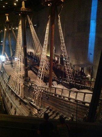 Vasa-Museum: ariel view
