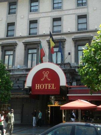 Hotel Metropole: Otel girişi