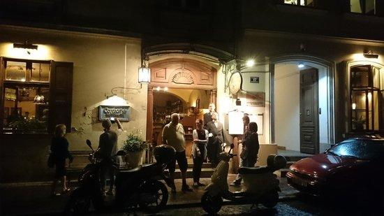 Corleone : atmosfæren på dette spisestedet gjør noe med deg.