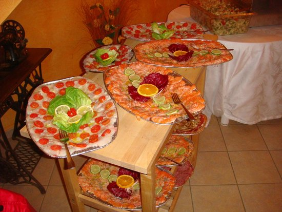 La Pergoletta : carpacci di pesce