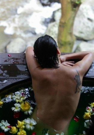Maya Ubud Resort & Spa: Enjoying the sounds of nature
