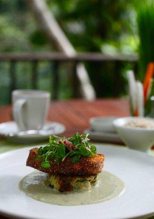Maya Ubud Resort & Spa: Seafood is 5 star!