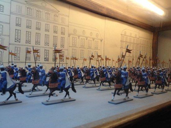 L'Iber Museo de Los Soldaditos de Plomo: battaglia