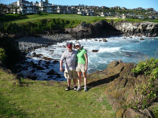 The Ritz-Carlton, Kapalua: Golfing!!