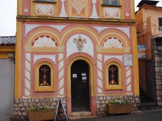 Chapelle de Saint Pierre des Pecheurs: 礼拝堂の入り口