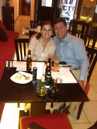Bufalo Grill and Market : A nice dinner with my wife in a great restaurant