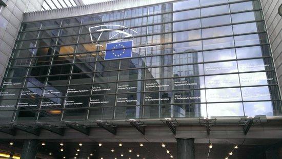 Parlamentarium: Centro de visitas del Parlamento Europeo: O símbolo da União Européia.