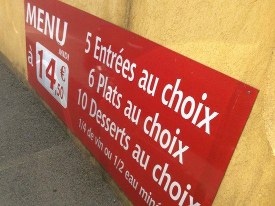 Au vieux Figuier : 3 gangen menu incluisief wijn voor 14,50 euro!