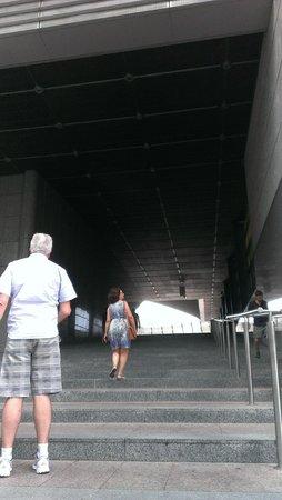 Parlamentarium : Escadaria monumental.