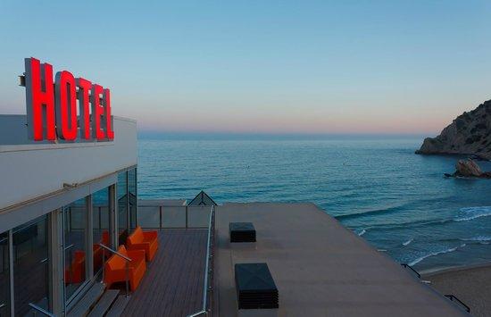 Hotel La Cala: VISTA DESDE AZOTEA DEL HOTEL ATARDECER