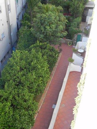 Hotel Villa Sanfelice: Hotelrückseite 3