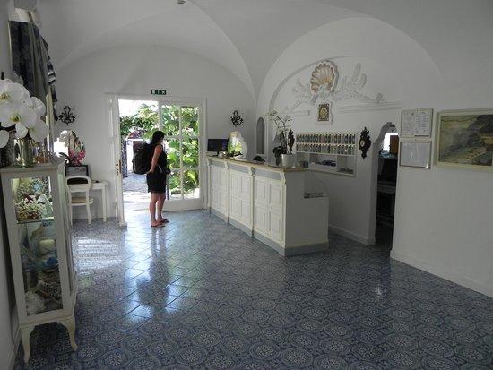 Hotel Villa Sanfelice: Empfang