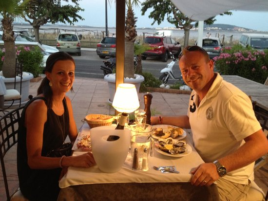 Hotel de Thau: Super restaurant nabij het hotel