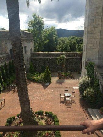 Castillo de Arteaga: courtyard