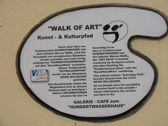 Hundertwasserhaus: Walk of Art