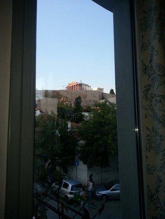 Daphne's: Vista dalla finestra